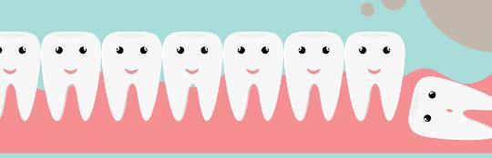 Are my wisdom teeth coming through?